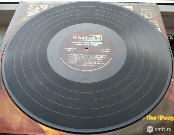 """Грампластинка (винил). Гигант [12"""" LP]. Three Dog Night. Suitable For Framing. 1969. USA.. Фото 8."""