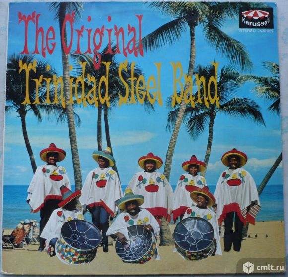 "Грампластинка (винил). Гигант [12"" LP]. The Original Trinidad Steel Band. Leader: Winston Jones.. Фото 1."