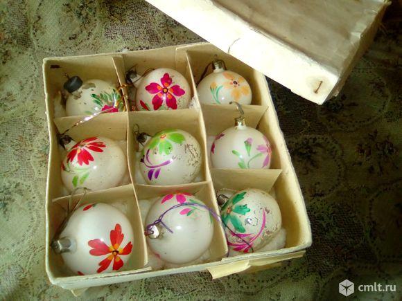 Новогодние шарики. Фото 1.