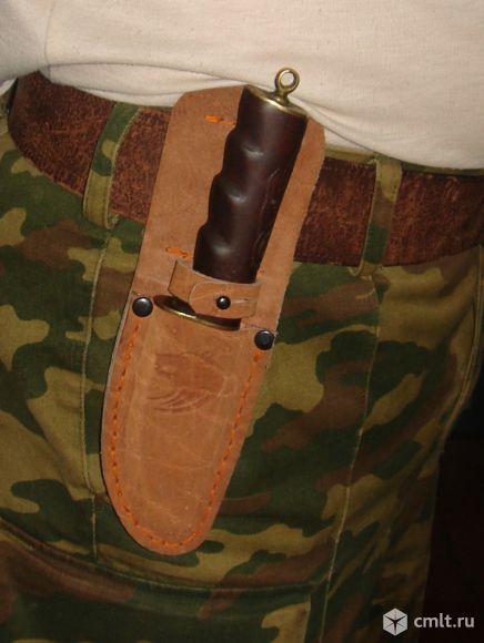 Ножны для охотничьего ножа из натуральной кожи