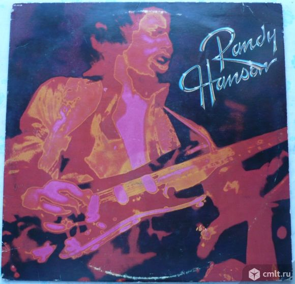 "Грампластинка (винил). Гигант [12"" LP]. Randy Hansen. Randy Hansen. (P)(C) 1980 Capitol Records Inc.. Фото 1."