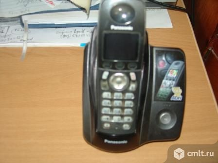 Радиотелефон Панасоник. Фото 1.