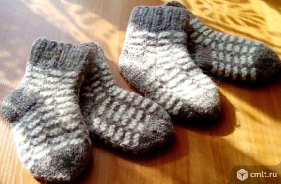 Пуховые детские носки