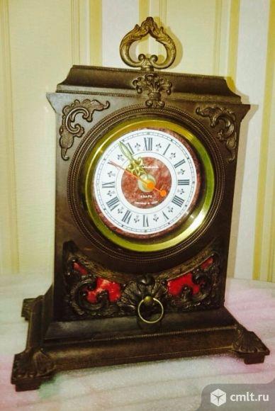 """Каминные часы """"Янтарь"""" (ХХ век)"""