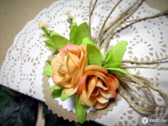 Коробка крафтовая для свадебного подарка