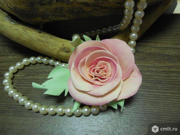 Цветок в прическу для невесты или подружек невесты