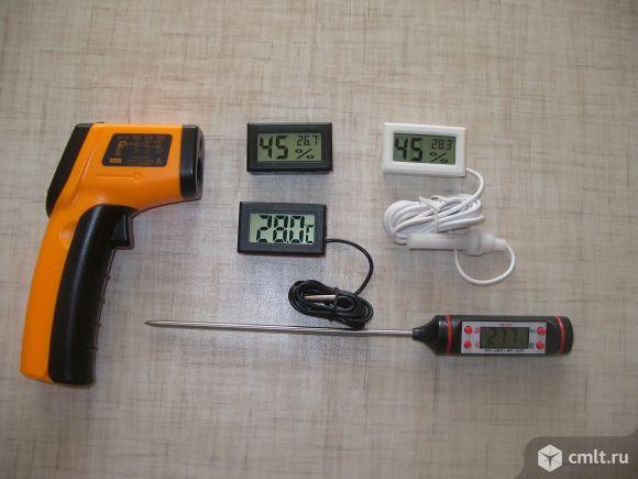 Термометры и гигрометры электронные