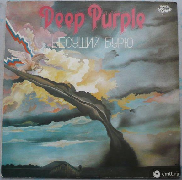 """Грампластинка (винил). Гигант [12"""" LP]. Deep Purple. Stormbringer. 1974. (C) АнТроп, 1991. СССР.. Фото 1."""