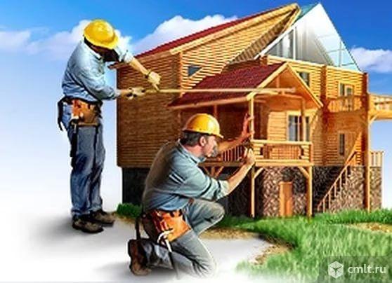Полный комплекс услуг по строительству домов и благоустройству территории вокруг дома. Фото 1.