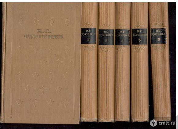 И.С.Тургенев. Собрание сочинений в шести томах.. Фото 1.