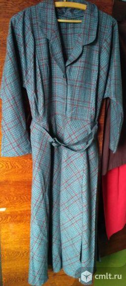 Платье в клеточку. Фото 1.