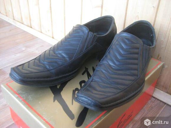 Туфли кожаные мужские. Фото 1.