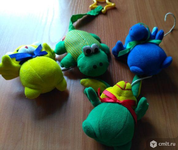 Игрушки мягкие. Фото 1.