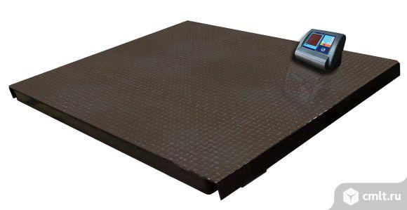 Весы платформенные МП 2000 ВЕДА. Фото 1.