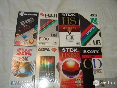 Видеокассеты фирменные. Фото 1.