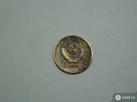 Монета СССР, 1 копейка 1980 г.. Фото 2.
