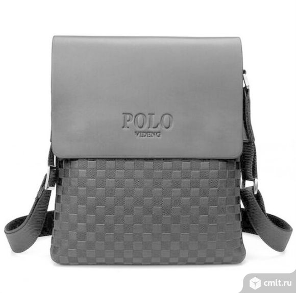 Мужская сумка планшет POLO. Фото 1.