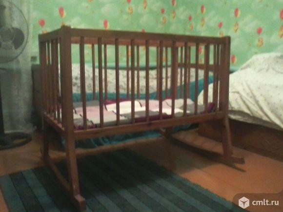 Детская кроватка. Фото 1.
