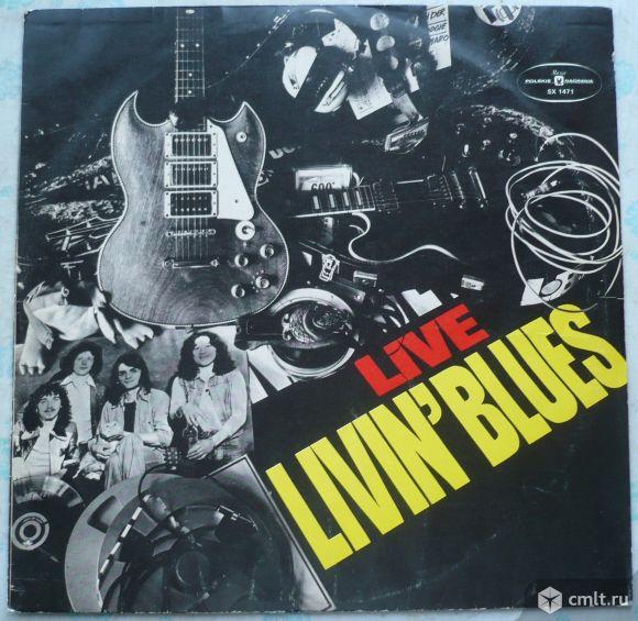 "Грампластинка (винил). Гигант [12"" LP]. Livin' Blues. Live Livin' Blues. 1975. Muza, 1977. Польша.. Фото 1."