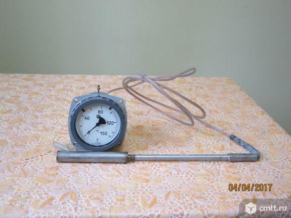 Термометр газовый показывающий электроконтактный ТГП-100ЭК