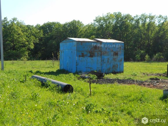 Металлический гараж 30 кв. м. Фото 1.