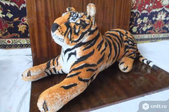 Мягкая игрушка тигр. Фото 1.