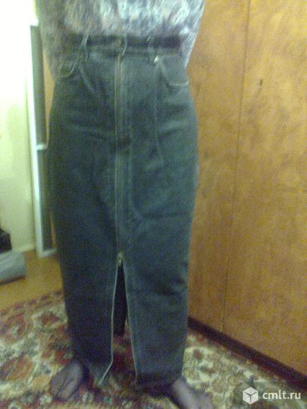 Юбка джинсовая.. Фото 1.