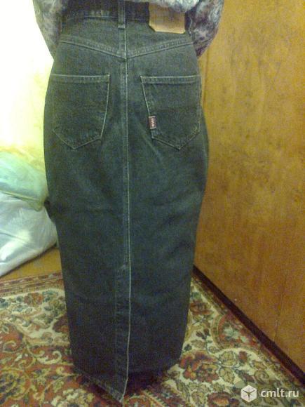 Юбка джинсовая.. Фото 2.