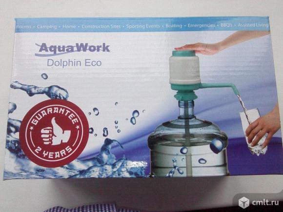 Насос-помпа водяная на пластиковую 19л бутыль