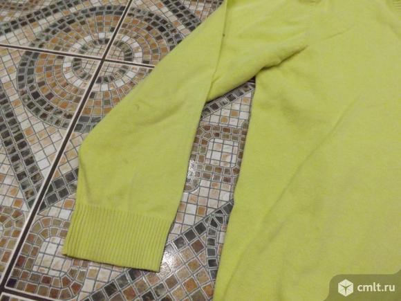 Лимонный пуловер. Фото 1.