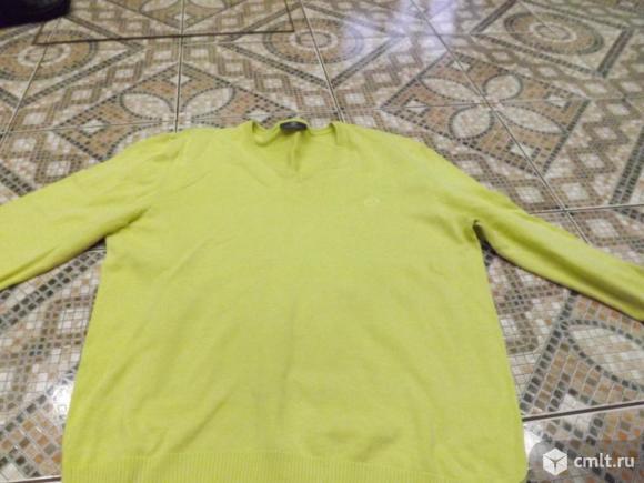 Лимонный пуловер. Фото 2.