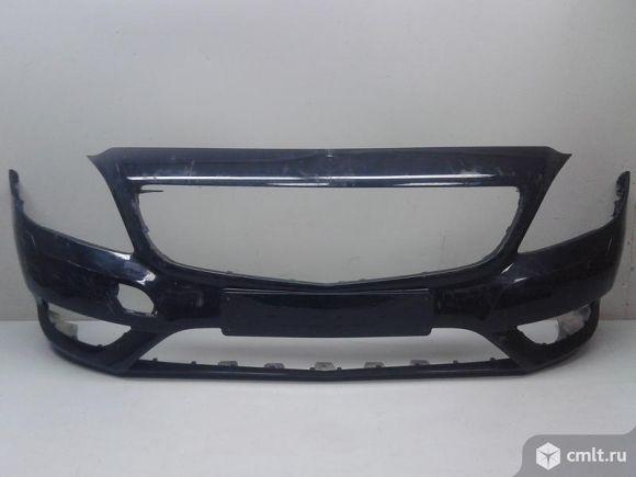 Бампер передний под омыв.фар MERCEDES BENZ W246 B-KLASS 11-14 б/у A24688006409999 4*. Фото 1.