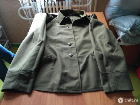 Куртка военная зеленая п/ш. Фото 1.
