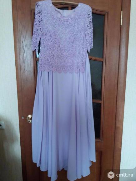 Платье на вечер или свадьбу нарядное длинное одевалось 1 раз