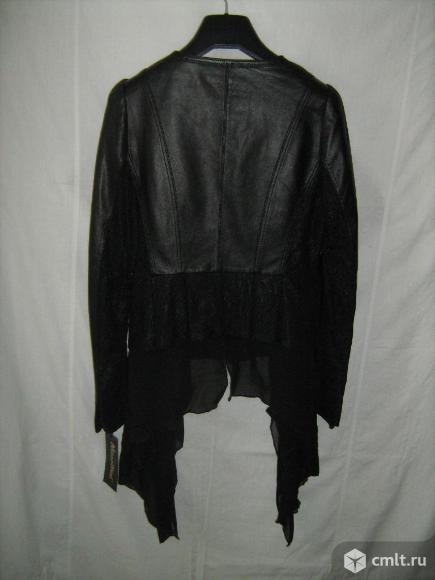 Кожаная куртка новая. Фото 4.