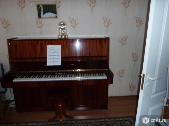 Пианино Беларусь 1993 г. в., цв. темно-коричневый