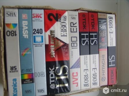 Видеокассеты VHS -фирменные. Фото 1.