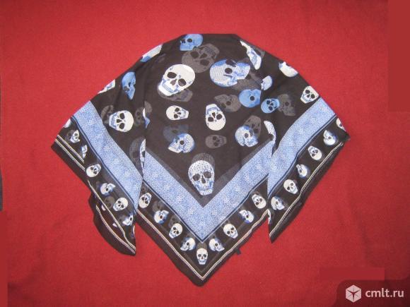 Платок Multibl с черепами х/б.. Фото 1.