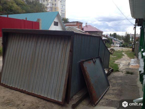 Металлический гараж 15 кв. м