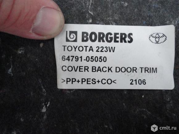 Облицовка багажника для Тойота Авенсис 2. Фото 3.
