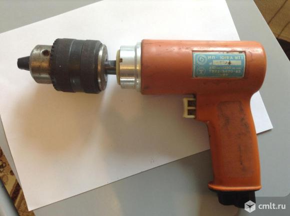 Пневматическая дрель ИП 1019А. Фото 3.