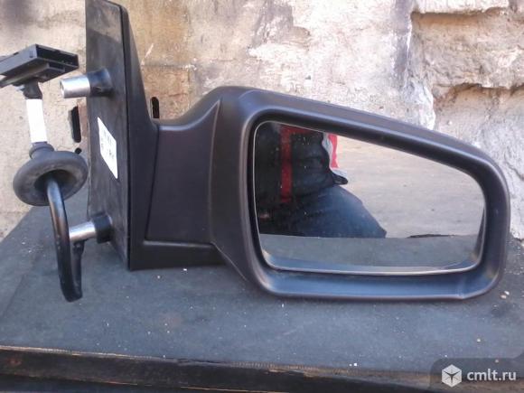Зеркало Opel Zafira b, зафира б. Фото 1.
