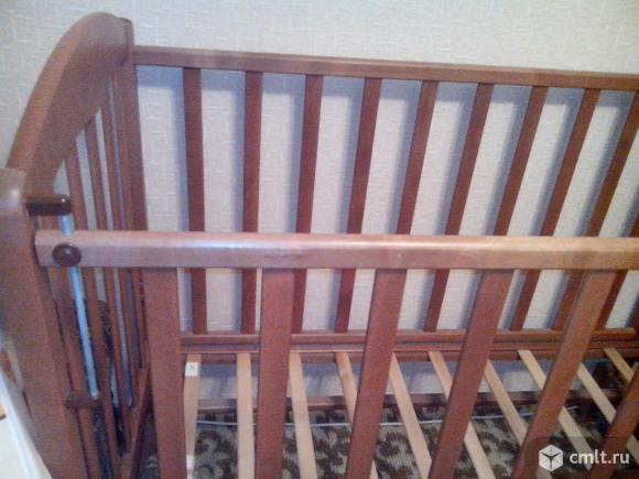 Кроватка-маятник(поперечный)