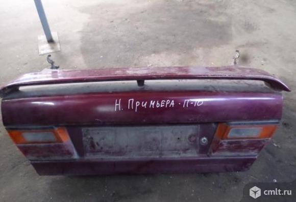 Крышку багажника. Фото 1.