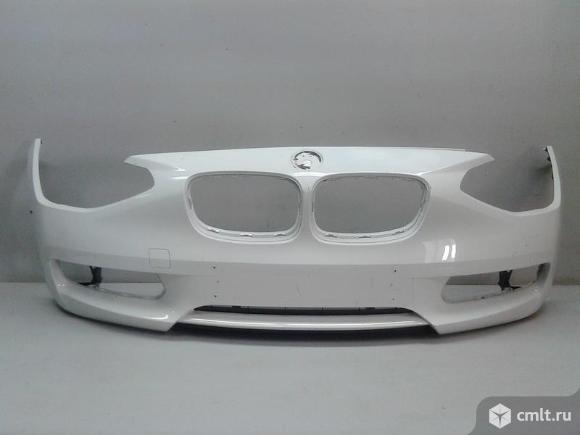 Бампер передний BMW 1 серия F20 11-17 б/у 51117292959 3*. Фото 1.