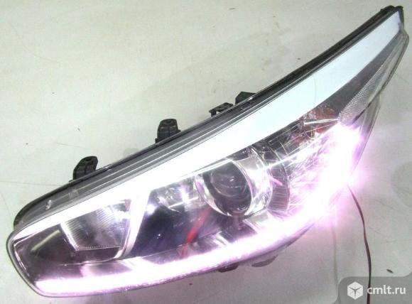 Фара LED левая KIA CEED 12-15 б/у 92101A2220 4.5* -  исправная дхо. Фото 1.