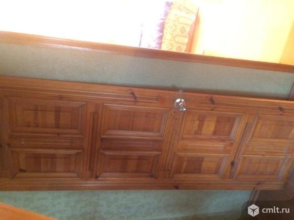 Филенчатая сосновая дверь под лак