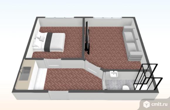 2-комнатная квартира 37 кв.м