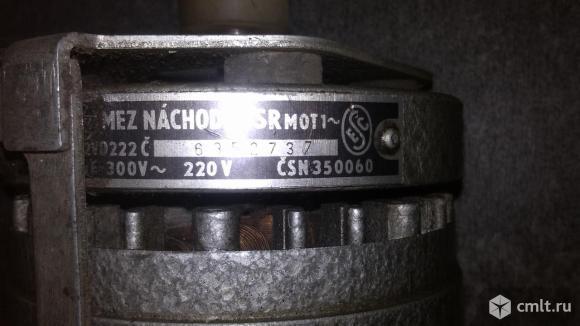 Электро двигатель MEZ NACHOD MOT1 VD222. Фото 3.