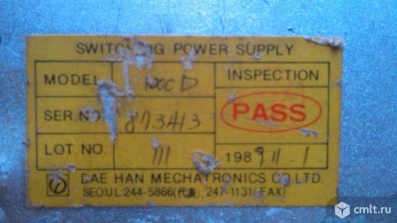 Блок питания SWITCHING POWER DH-1000 D. Фото 3.